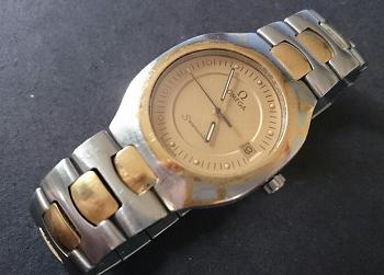 オメガ ポラリス K18コンビ時計買取.png