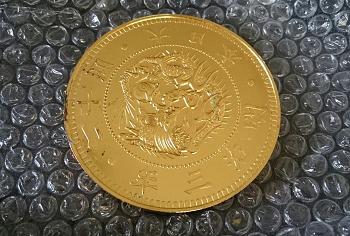 フランクリンミント 純銀 K24仕上 旧20円金貨 二十圓金貨.png