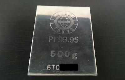 田中貴金属のプラチナインゴット地金500g.png