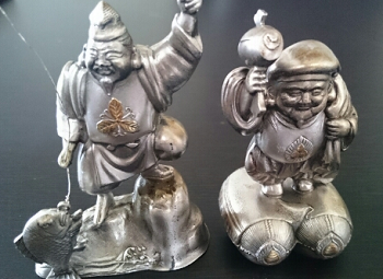 純銀製の七福神買取品.png