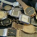 壊れた時計まとめて買取