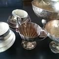 純銀の銀杯・シルバー925製トロフィーカップ買取ました