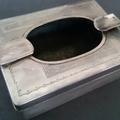 【銀製品買取】 銀製刻印の灰皿を買取ました