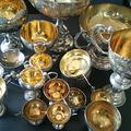 銀製・SILVER刻印のトロフィー・カップを買取|買取価格 73,000円