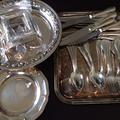 銀食器・お盆・カトラリー買取|買取価格90,734円 千葉県