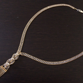 750刻印のデザインネックレスを買取しました