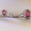 プラチナ台 ダイヤ&ルビーのリングを買取|さいたま市緑区