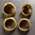 K24印台  純金指輪を買い取り|埼玉県川越市のお客様
