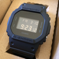 未使用品G-SHOCK DW-5600BBを買取