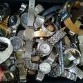 壊れた腕時計を大量まとめ買取