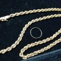 K18ネックレスやリングを買取|買取価格 106,734円