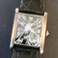 カルティエ|ガラス割れ時計を買取り