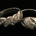 プラチナ製ダイヤリングを買取